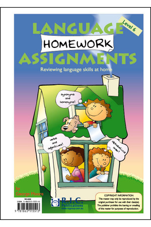 Language Homework Assignments - Level 6: Ages 10-11