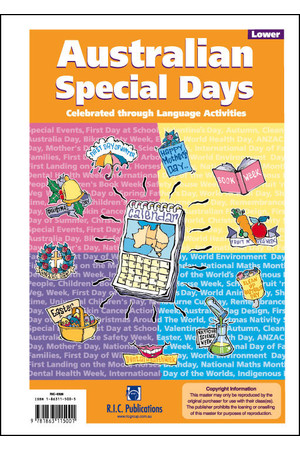 Australian Special Days - Ages 5-8