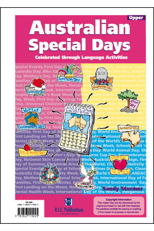 Australian Special Days - Ages 10-12