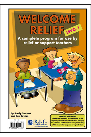 Welcome Relief - Level 1: Ages 5-6