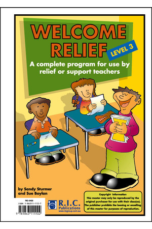 Welcome Relief - Level 3: Ages 7-8