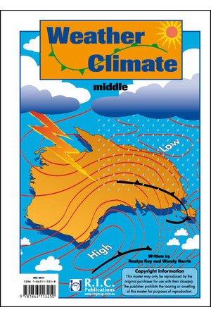 Weather and Climate - Ages 8-10