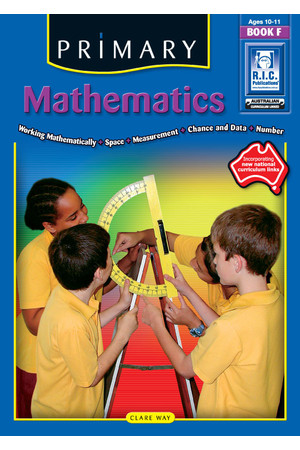 Primary Mathematics - Book F: Ages 10-11