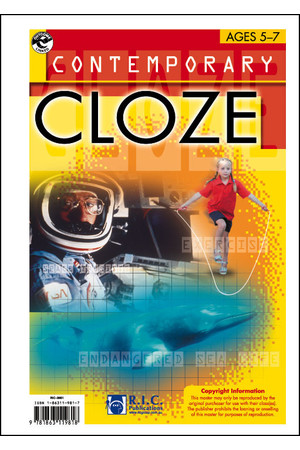Contemporary Cloze - Ages 11-13