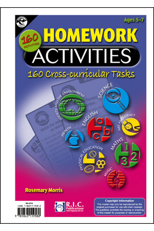 Homework Activities - Ages 5-7