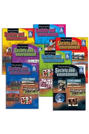 Primary Society and Environment - Book Pack