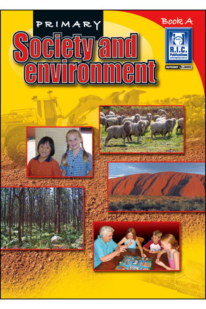 Primary Society and Environment - Book A: Ages 5-6