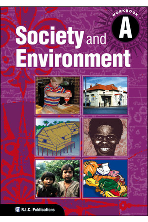 Society and Environment - Student Workbook A: Ages 5-6