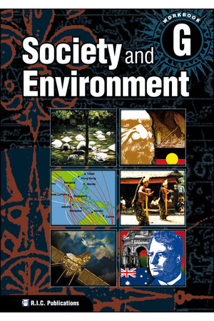Society and Environment - Student Workbook G: Ages 11-12