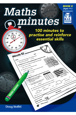 Maths Minutes - Book G: Ages 11+