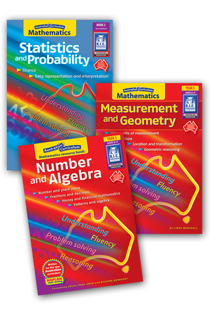 Australian Curriculum Mathematics BLM Bundle - Year 3