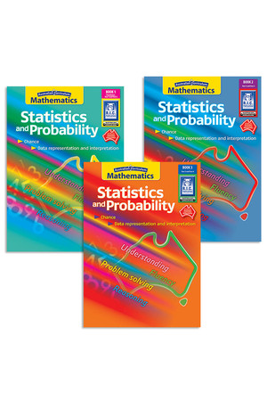 Australian Curriculum Mathematics - Statistics and Probability: Book Pack
