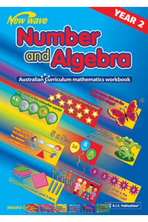 Australian Curriculum Mathematics - Number and Algebra Workbook: Year 2