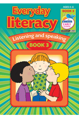 Everyday Literacy - Listening and Speaking: Book 3