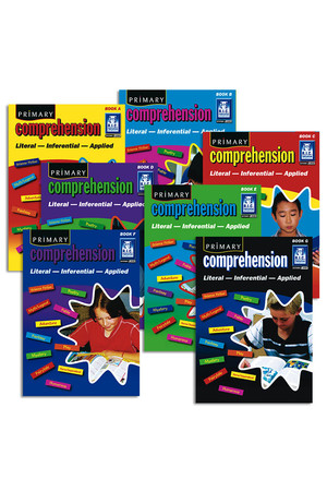 Primary Comprehension - Book Pack