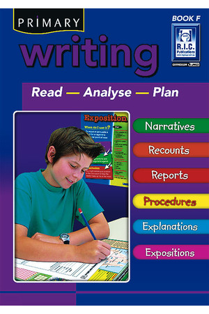 Primary Writing - Book F: Ages 10-11