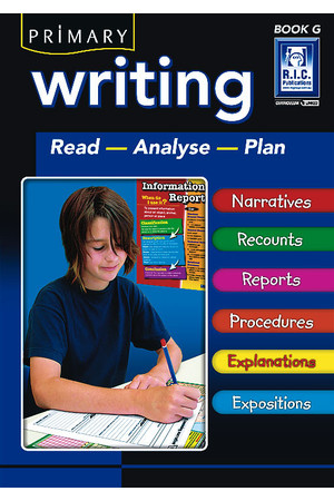 Primary Writing - Book G: Ages 11-12