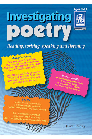 Investigating Poetry - Ages 9-10