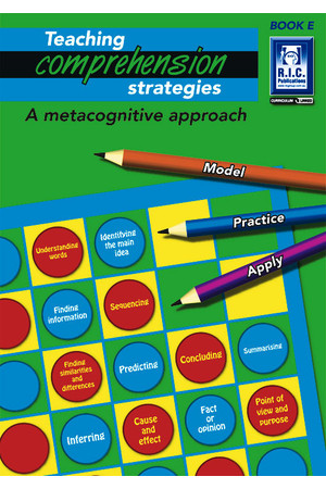Teaching Comprehension Strategies - Book E: Ages 9-10