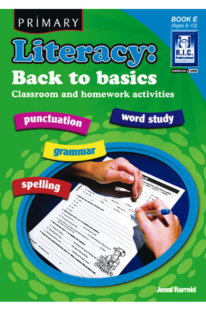 Primary Literacy - Back to Basics: Book E (Ages 9-10)