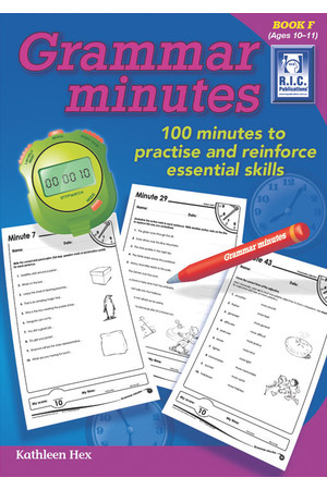 Grammar Minutes - Book F: Ages 10-11