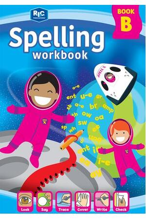 Spelling Workbook (Interactive) - Student Book B: Ages 6-7