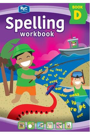 Spelling Workbook - Book D: Ages 8-9