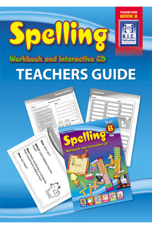 Spelling Workbook  - Teachers Guide: Book B (Ages 6-7)