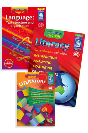 Australian Curriculum English BLM Bundle - Year 3