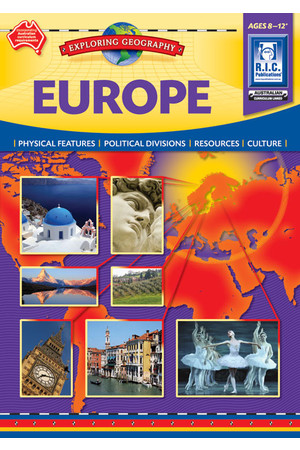 Beginning/Exploring Geography - Europe