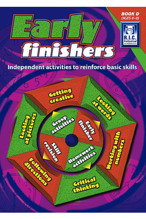 Early Finishers - Book D: Ages 8-9