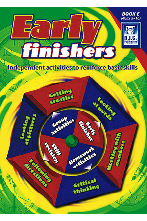 Early Finishers - Book E: Ages 9-10