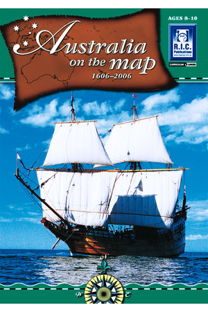 Australia on the Map: 1606 - 2006 - Ages 8-10