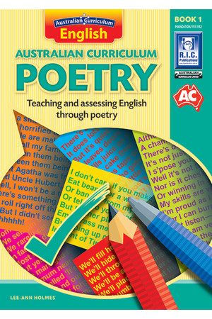 Australian Curriculum Poetry - Book 1: Lower Primary