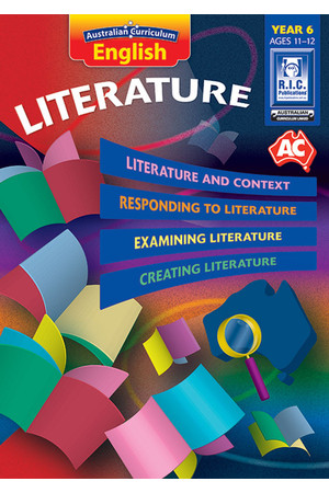 Australian Curriculum English - Literature: Year 6