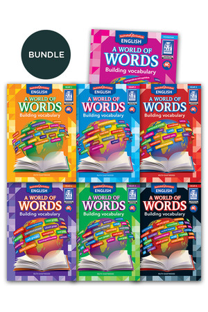 Australian Curriculum English: A World of Words - Building Vocabulary Bundle