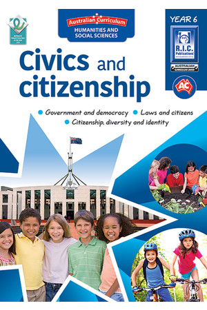 Australian Curriculum Civics and Citizenship – Year 6