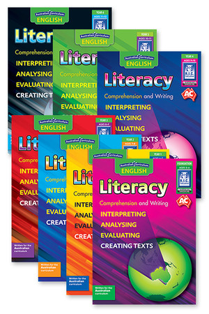 Australian Curriculum English - Literacy: Comprehension and Writing (Book Pack)