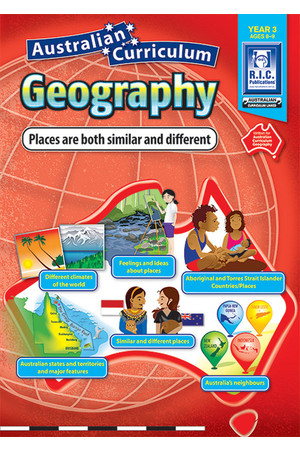 Australian Curriculum Geography - Year 3