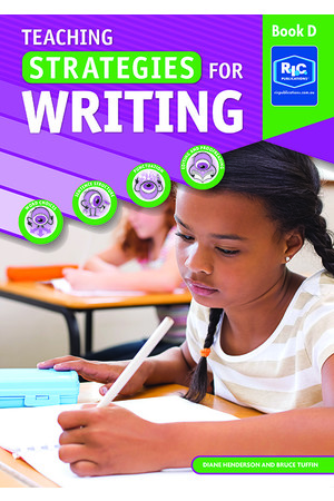 Teaching Strategies for Writing - Book D: Ages 9-10 (Year 4)