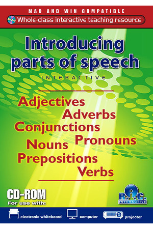 Introducing Parts of Speech Interactive
