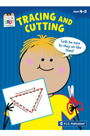 Stick Kids Maths - Ages 4-5: Tracing and Cutting