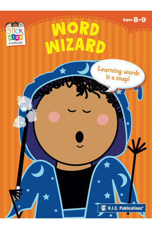 Stick Kids English - Ages 8-9: Word Wizard
