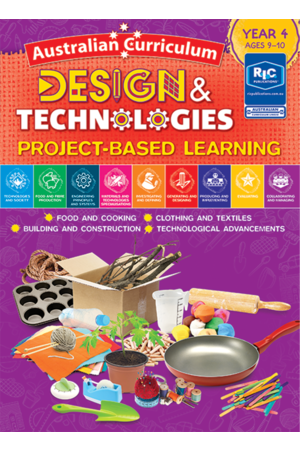 Australian Curriculum Design and Technologies – Year 4