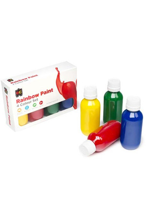 Rainbow Paint 100ml - Set of 4