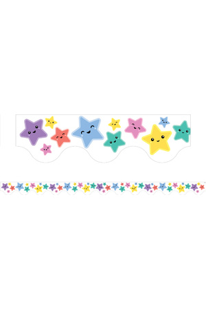 Stars Scalloped Border