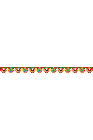 Christmas Scalloped Border