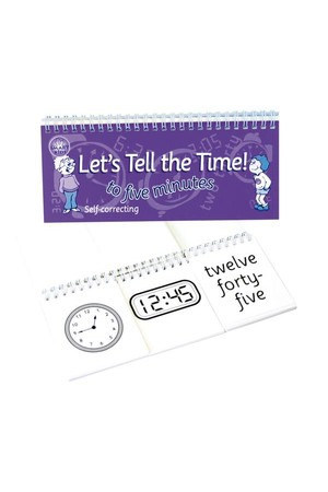 Let's Tell The Time Flip Book - 5 Minutes