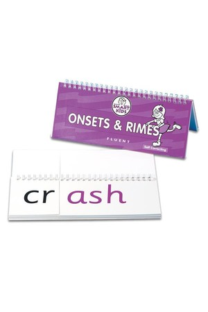 Onsets and Rimes Flip Book - Fluent