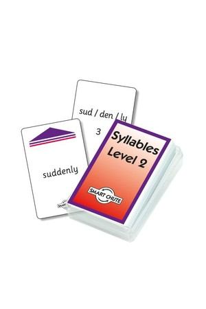 Syllables (Level 2) – Chute Cards